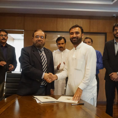 MOU Signing Ceremony Of Forces School Franchise Mardan Campus